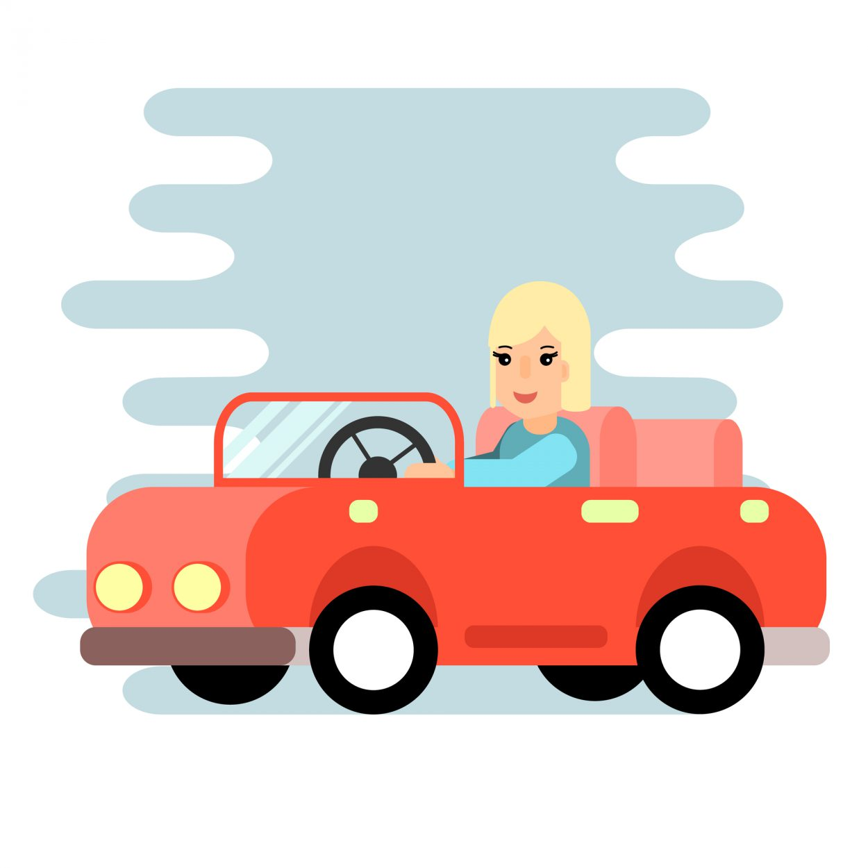 Молодая женщина останавливает автомобиль как раз под знаком запрета стоянки. Подходит кней автоинспектор иговорит…