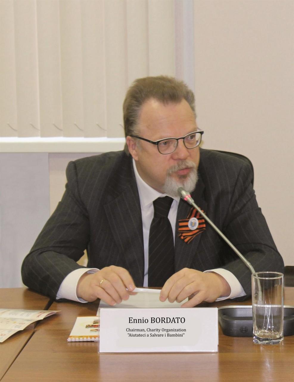 Эннио Бордато и российское гражданство