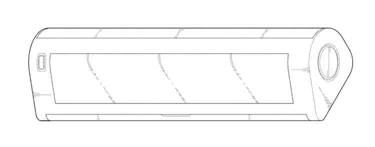 LG проектирует необычный смартфон с вытягивающимся дисплеем