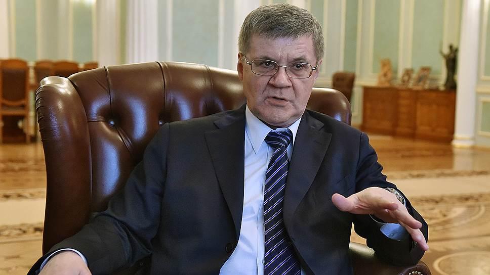 Генпрокурор Юрий Чайка — о противодействии коррупции