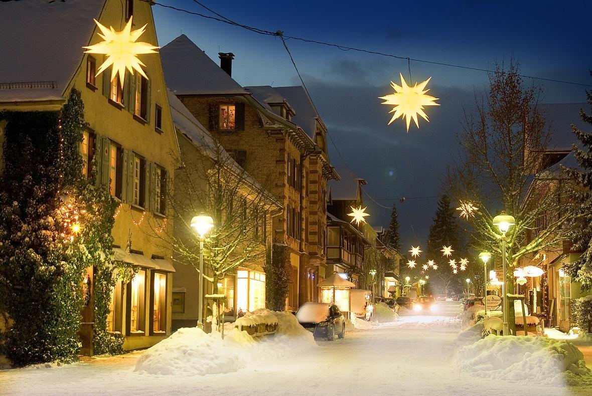 что картинки зима город новый год всегда
