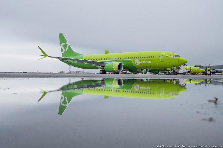 Как выглядит первый Боинг 737 MAX