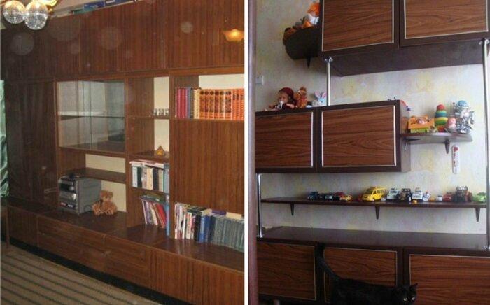 Из старой развалюхи получился отличный стеллаж! до и после, идея, мебель, ремонт, своими руками, фантазия