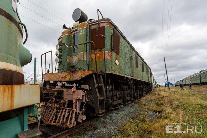 Электровоз ВЛ22м, который с 1946 по 1958 год выпускался на Новочеркасском электровозостроительном заводе. история, поезда, раритет, ржд