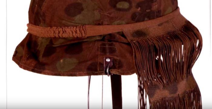 Какую функцию выполняли «волосы» на каске немецких солдат