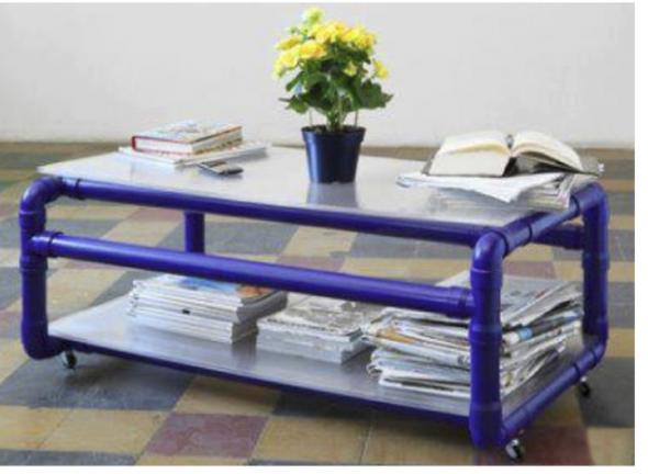 Дачная мебель и идеи из труб ПВХ