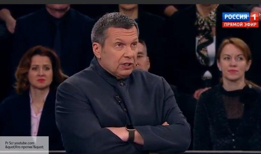 Соловьев объяснил присутствие украинцев-националистов на своих эфирах.