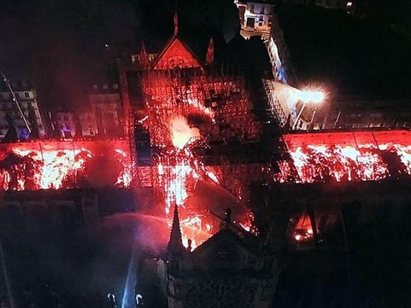Во Франции начался сбор средств на восстановление Нотр-Дам
