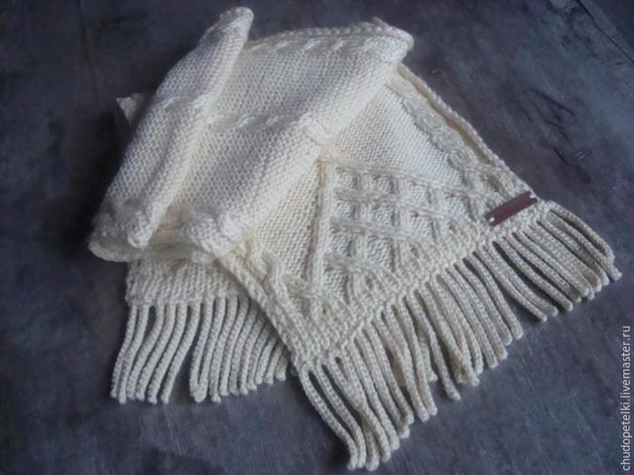 Как связать бахрому для шарфа. Очень полезный мастер-класс бахрома