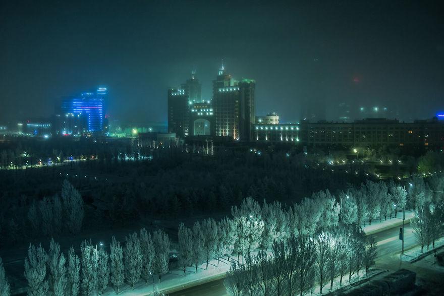 Знакомство с красавцем Нур-Султаном Астана,Казахстан,Нур-Султан