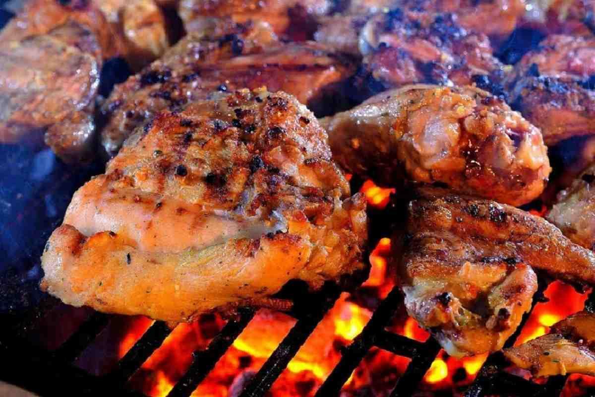 Шашлык из курицы на квасе блюда из курицы,мясные блюда