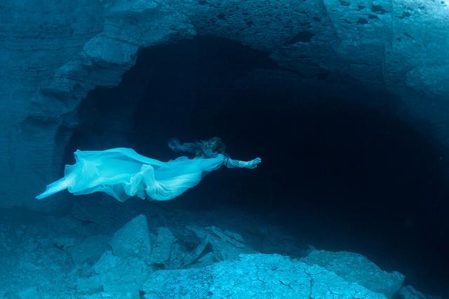 Съемки проходили в Ординской пещере, которая находится под Пермью.