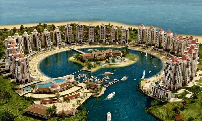 Жемчужина Катара - роскошный искусственный остров