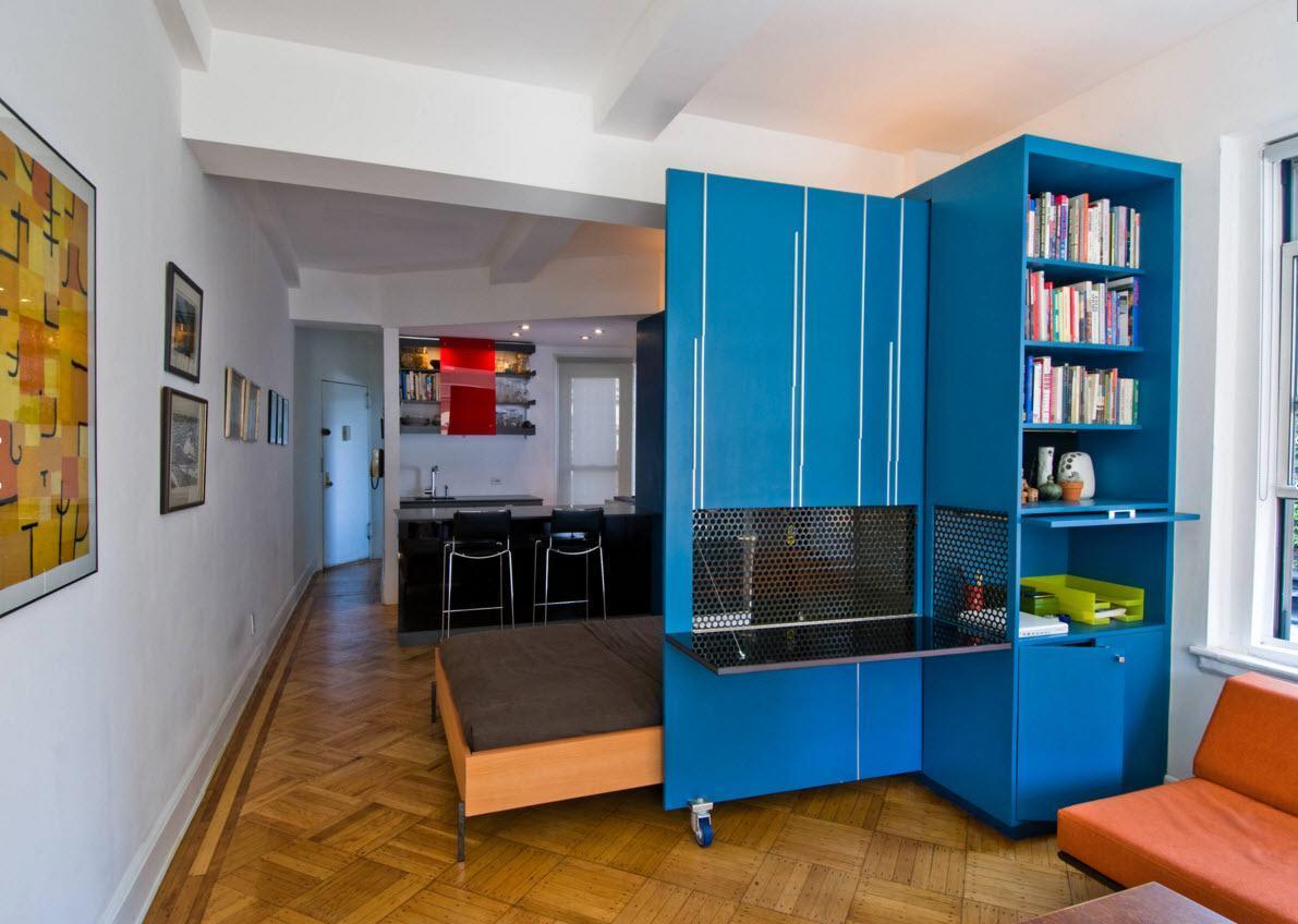 дизайн маленьких однокомнатных квартир с детской фото