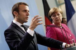 Представитель правительства ФРГ рассказал, что обсудят Меркель и Макрон