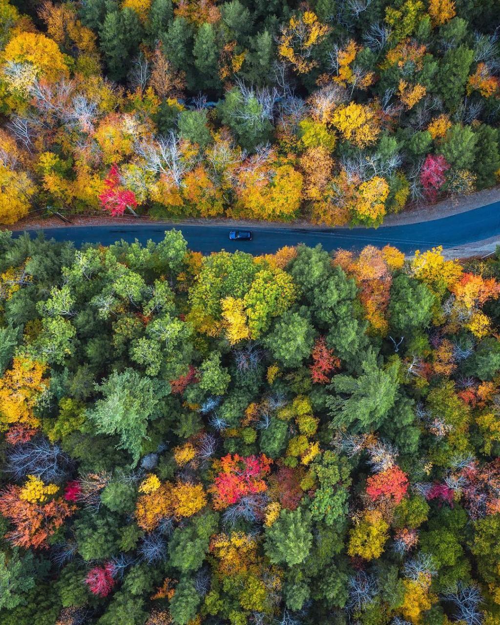 Замечательные аэрофотоснимки Майкла Матти