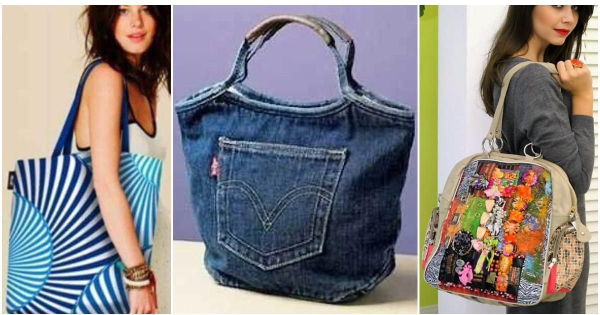 Стильная сумка своими руками — возможность выделиться из толпы