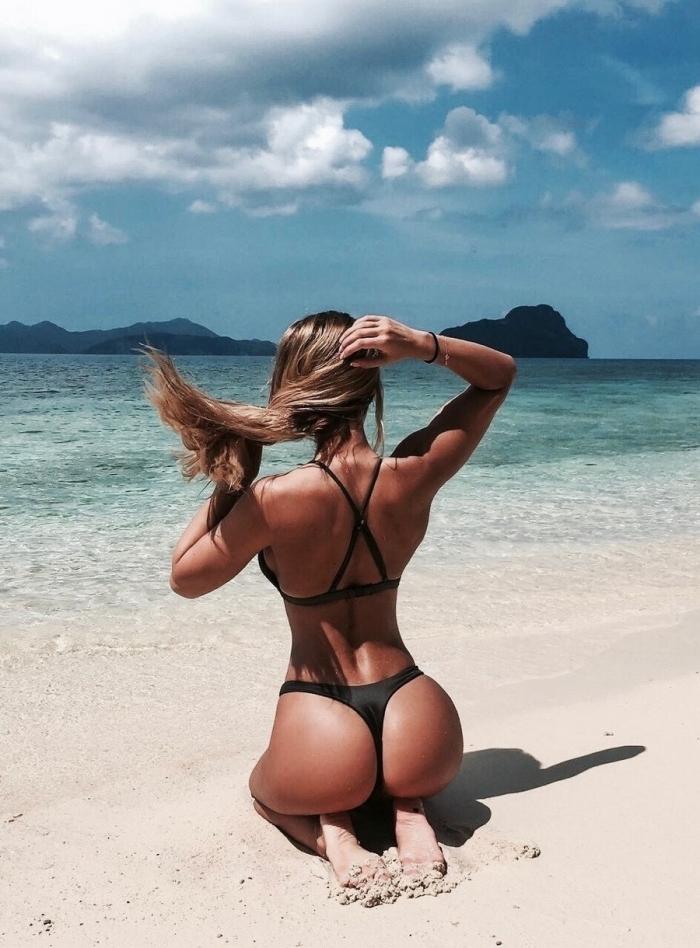 Самые красивые девушки фото сзади — 7