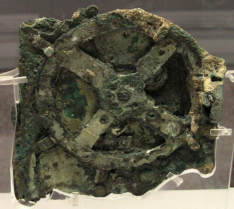 1. Антикитерский механизм артефакты, археология, загадки, история, находки, подборка, тайны, это интересно