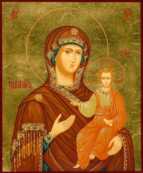 икона одигитрия