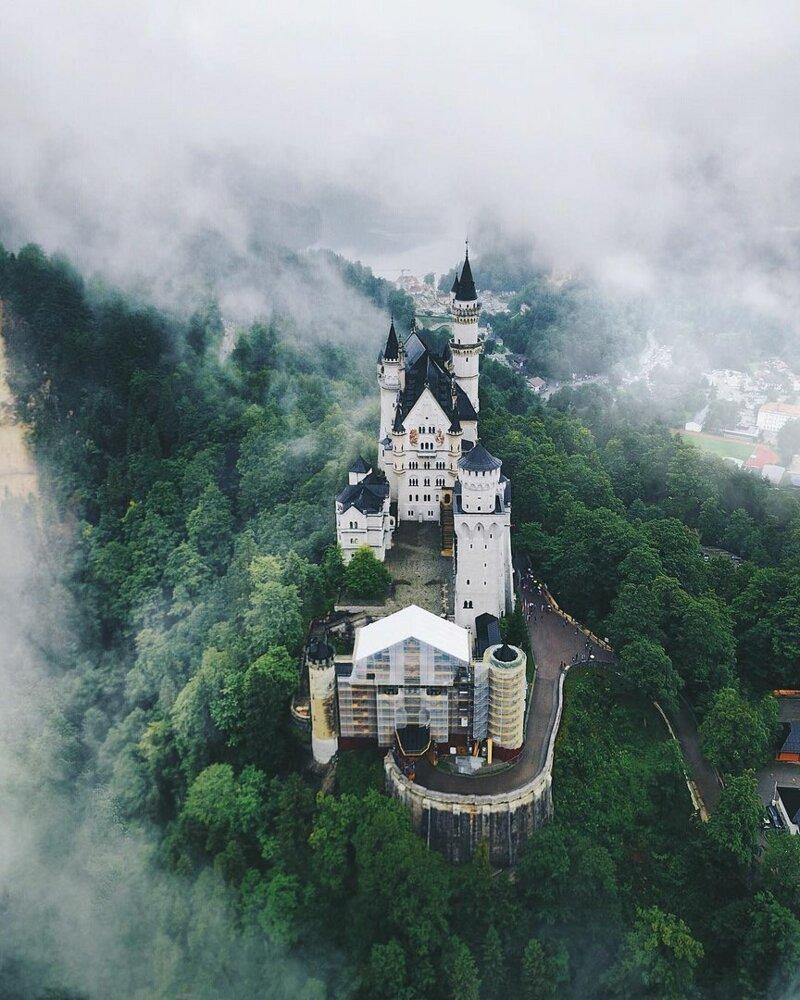 Замок Нойшванштайн позитив, фото, это интересно
