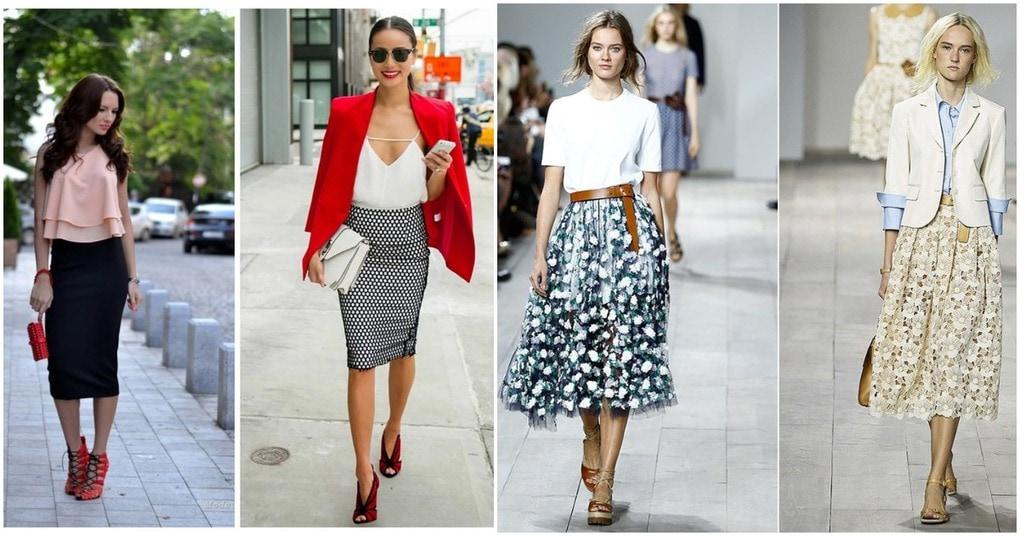 Непроходящая мода на юбки: а…