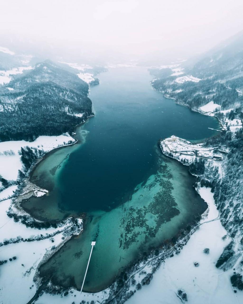 Зимняя Австрия на снимках Себастьяна Шейхла австрия