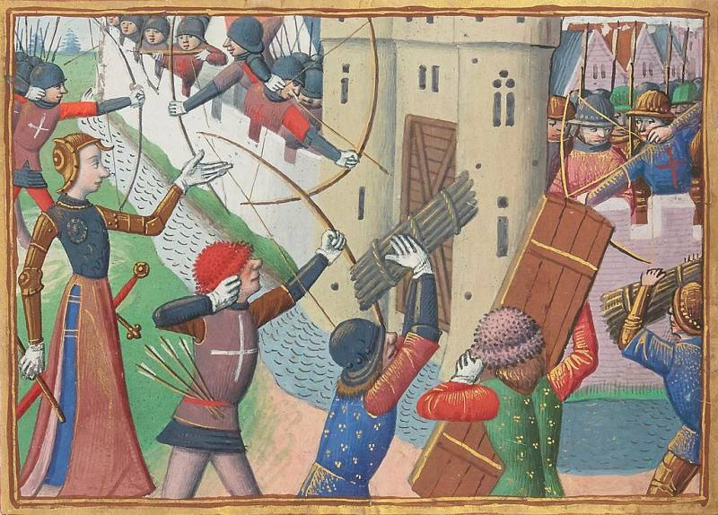 Рыцари Столетней войны: первая униформа история
