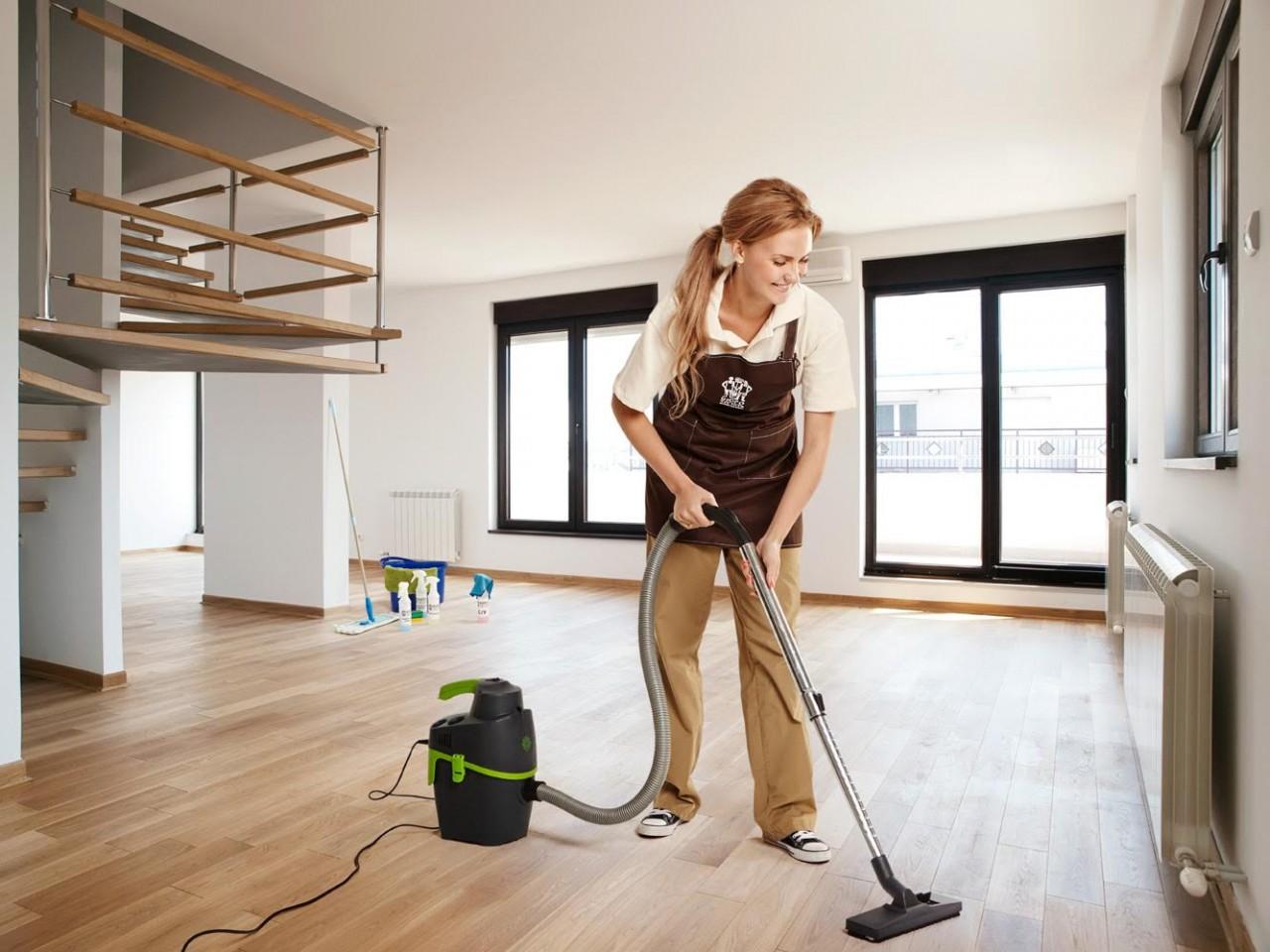 Как убрать строительную пыль…