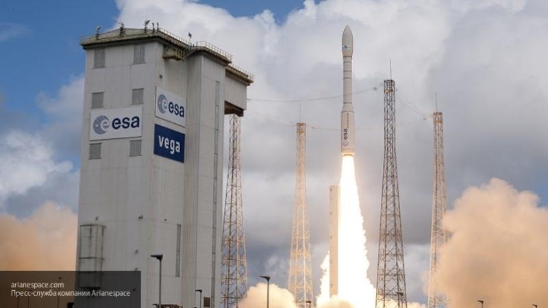 Авария произошла во время запуска ракеты-носителя Vega со спутником ОАЭ