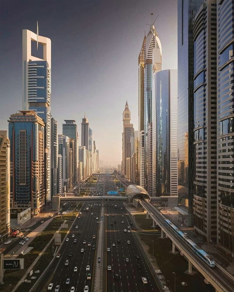 Архитектура Дубая позитив, фото, это интересно