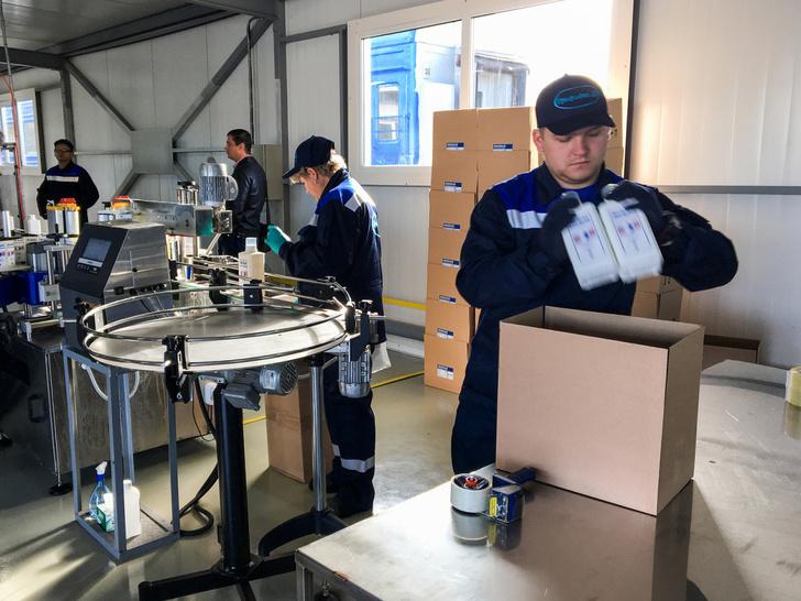 Резидент ТОР Хабаровск разработал обеззараживающее средство для МЧС
