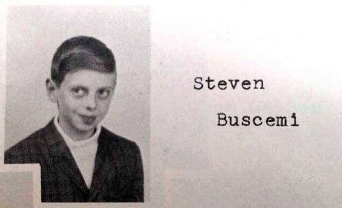 26. Стив Бушеми в начальной школе Instagram, звезды, знаменитости, знаменитости в молодости, известные, редкие фото, селебрити, старые фото