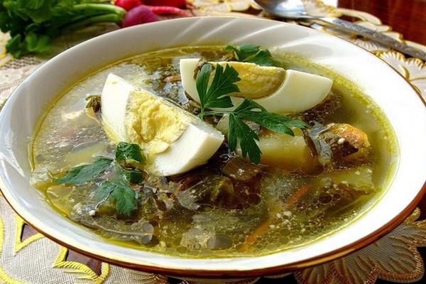 Щавелевый украинский суп
