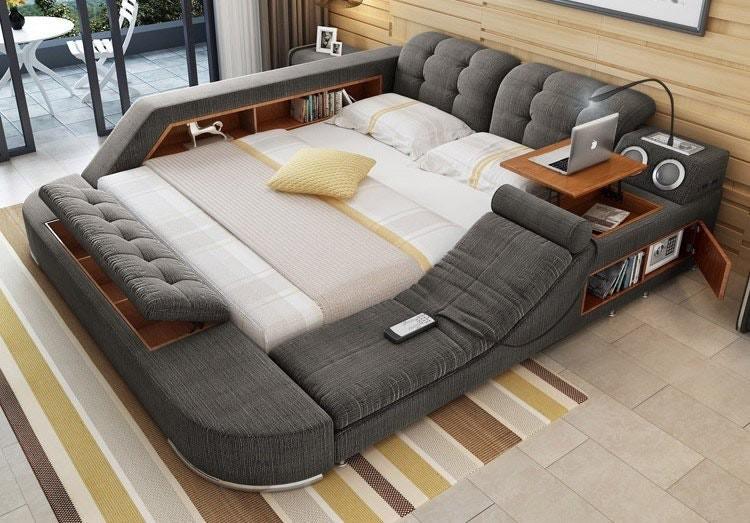 Эта многофункциональная кровать настолько крута, что вы вряд ли захотите с неё встать