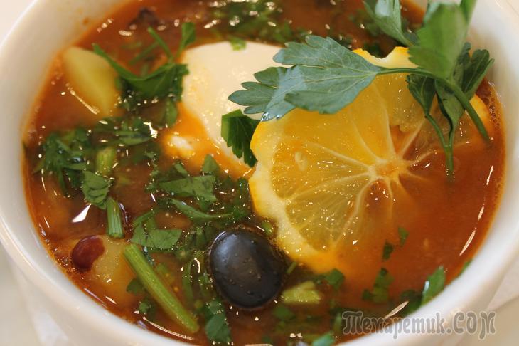 Солянка- королева супов!