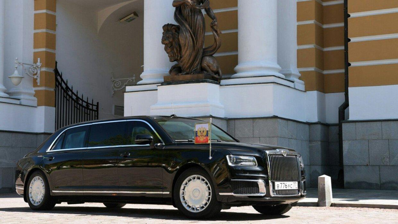 «Побольше, чем Mercedes»: Путин показал принцу Абу-Даби лимузин проекта «Кортеж»