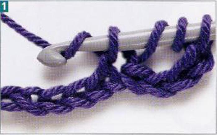 Картинки схем для вязания крючком