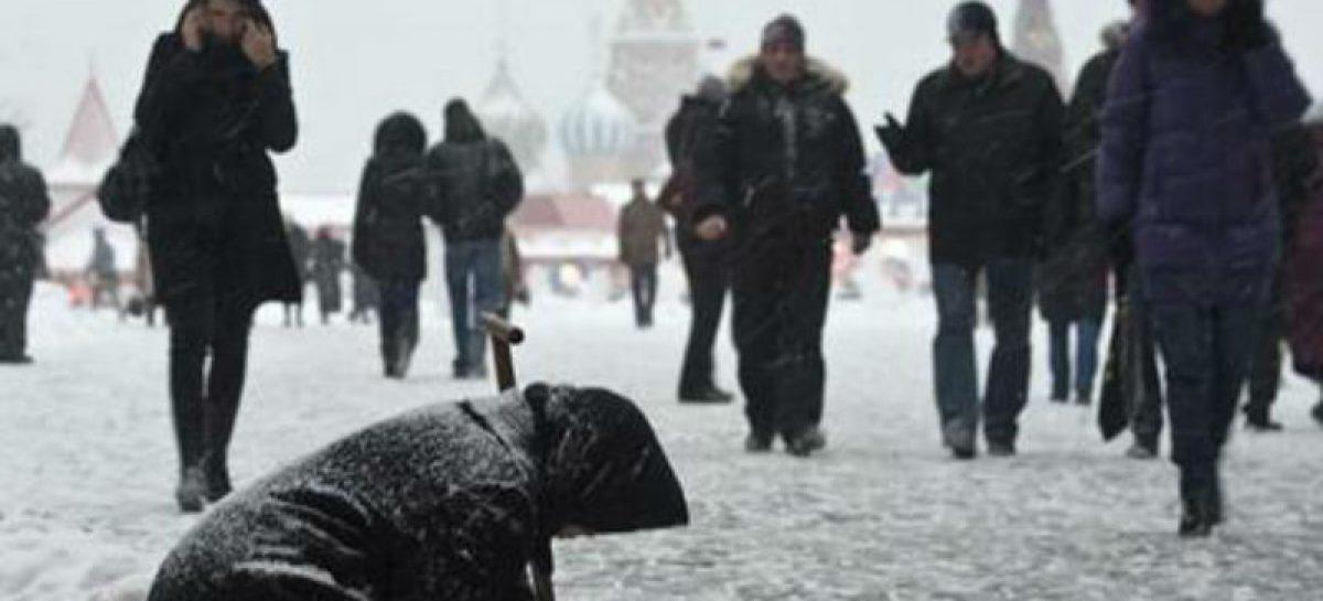 За реальной чертой бедности в России оказалось почти 50% населения
