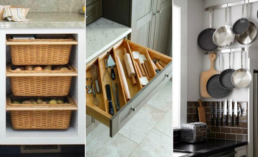 Хранение на кухне: 20 полезн…