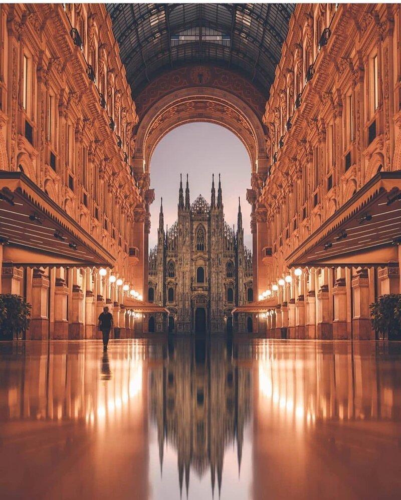 Милан, Италия позитив, фото, это интересно