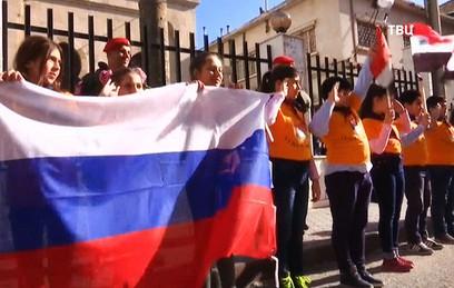 Сирия празднует освобождение от ИГ