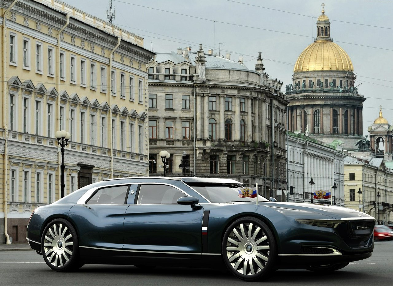 ЗИМ 12 «Акула». автомобили, ваз, газ, концепты, российские автомобили, уаз