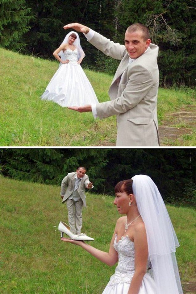 можно ли рвать или резать свадебные фото выращивания