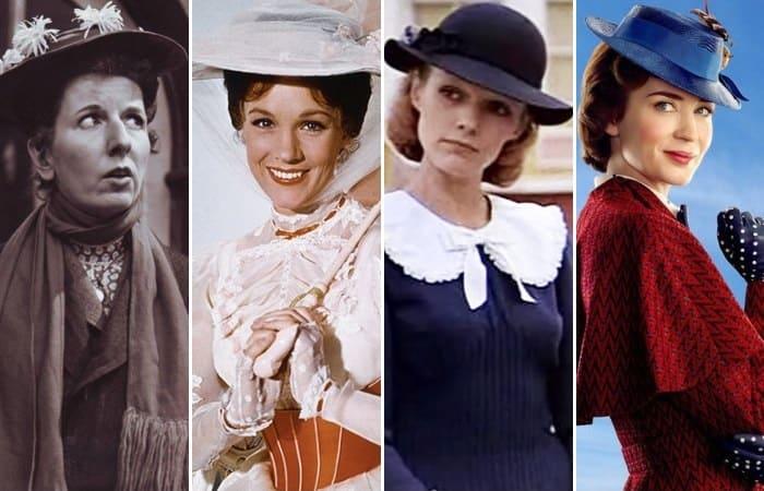 Актрисы, которые играли роль Мэри Поппинс