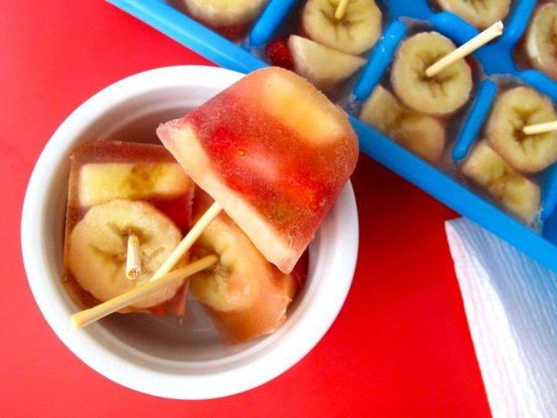 2. А это альтернатива фруктовому льду для кухни, кухня, советы, формочка для льда