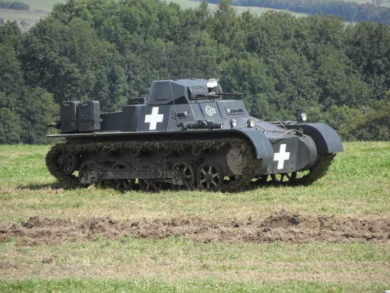 Как создавался танк Panzerkampfwagen I
