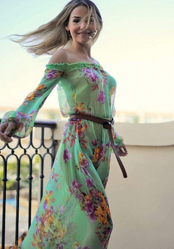 фото красивых девушек в легком платье - 4