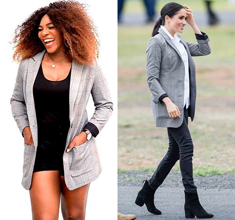 Модная битва: Серена Уильямс против Меган Маркл