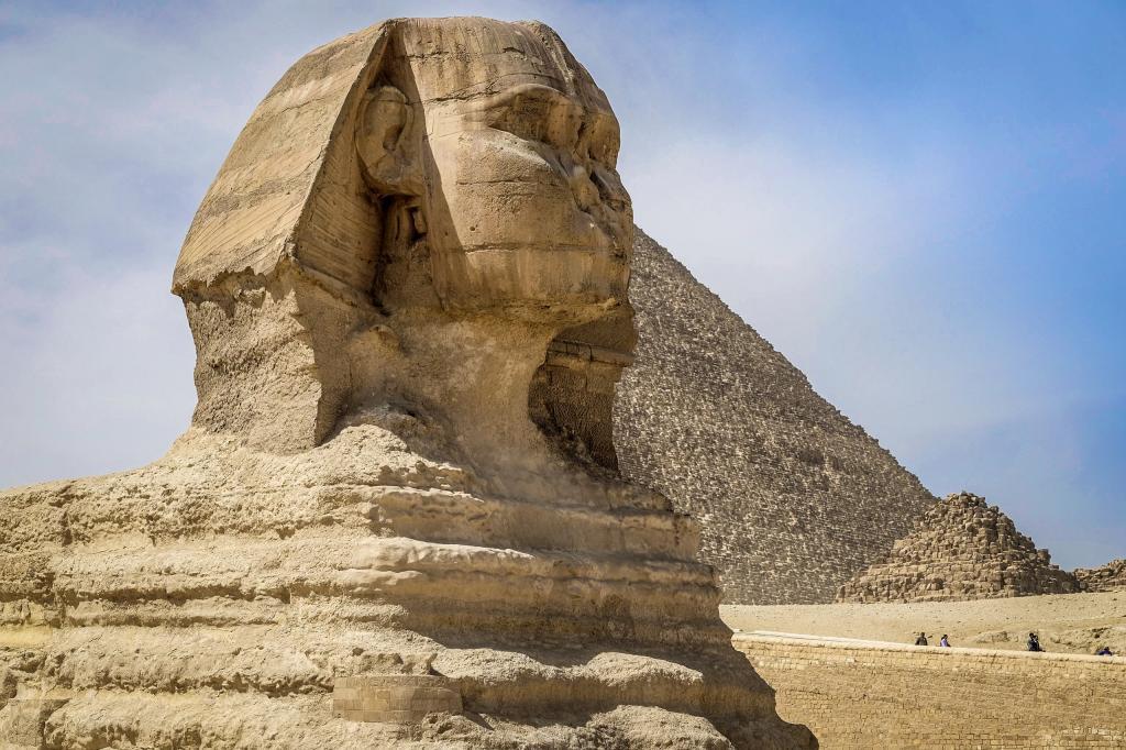 египетские сфинксы фото